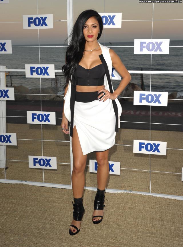Nicole Scherzinger Fox All Star Party      In Malibu Malibu Posing