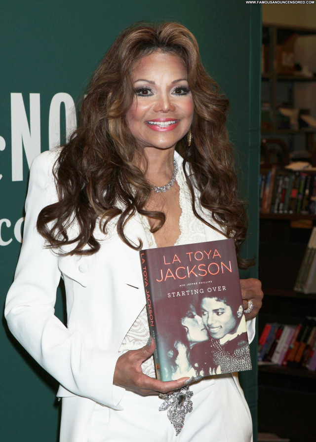 La Toya Jackson Los Angeles  New York Beautiful Celebrity High