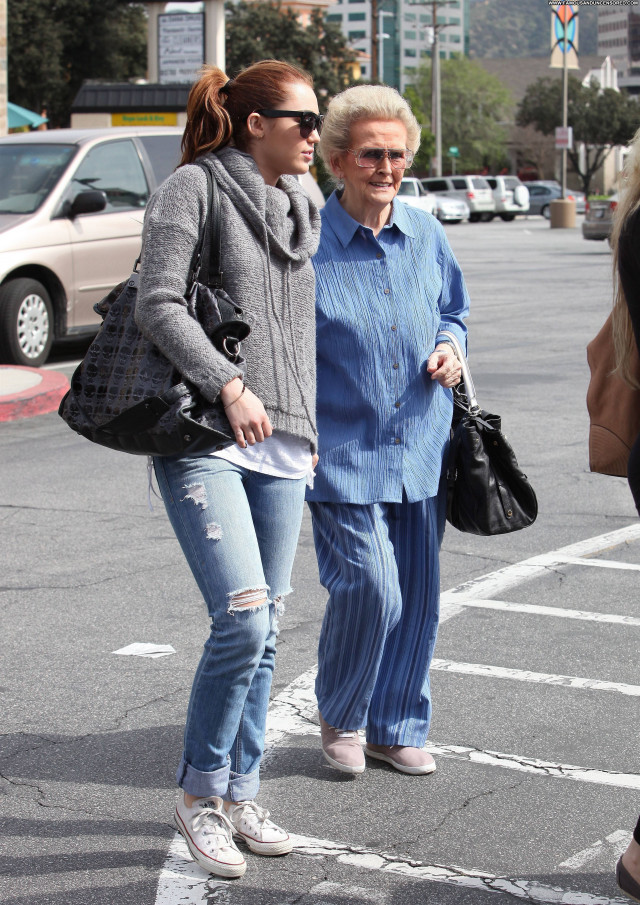 Miley Cyrus Toluca Lake  Beautiful High Resolution Celebrity Babe