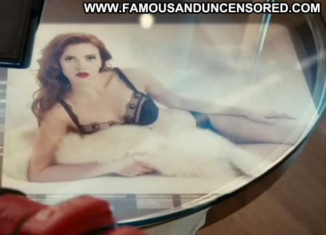 Scarlett Johansson Iron Man Celebrity Posing Hot Beautiful Usa