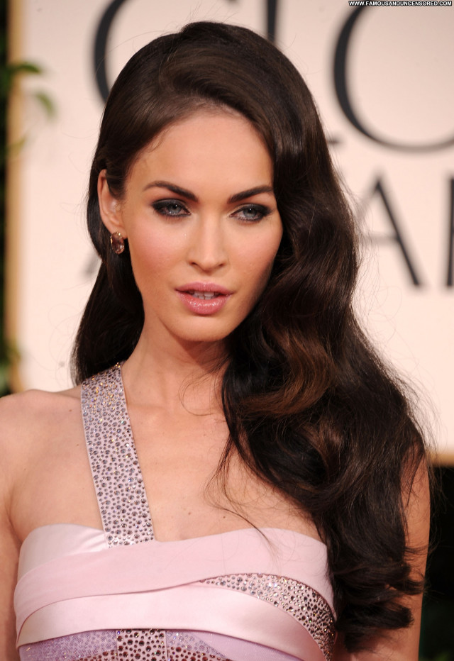 Megan Fox Golden Globe Awards Awards Beautiful Usa Celebrity Babe