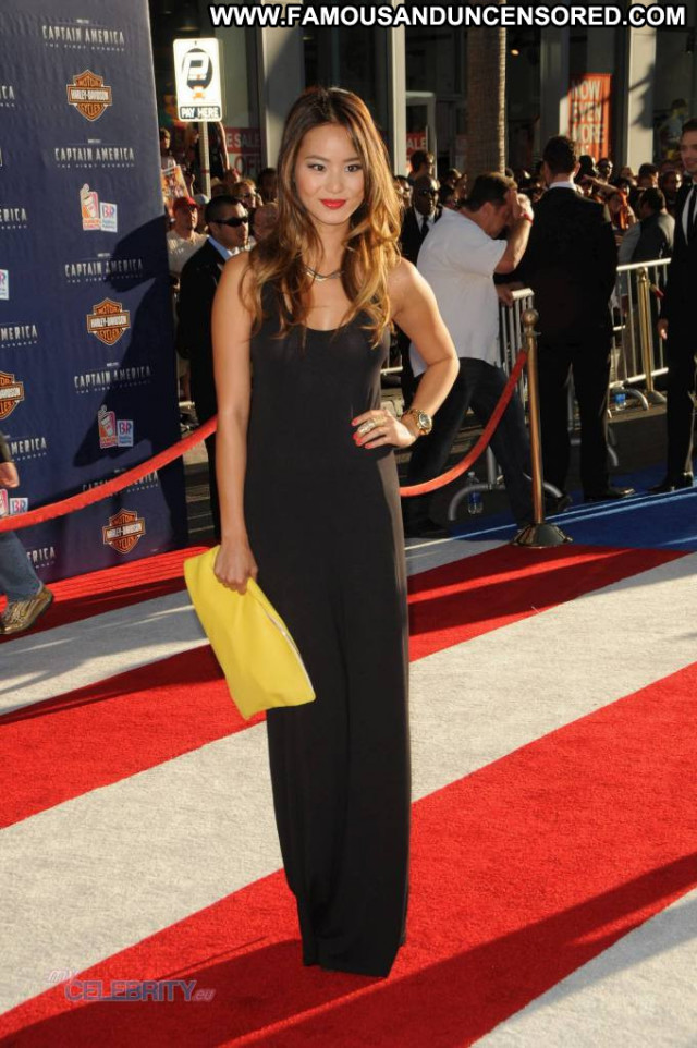 Jamie Chung In America Babe Posing Hot Celebrity Hollywood Usa