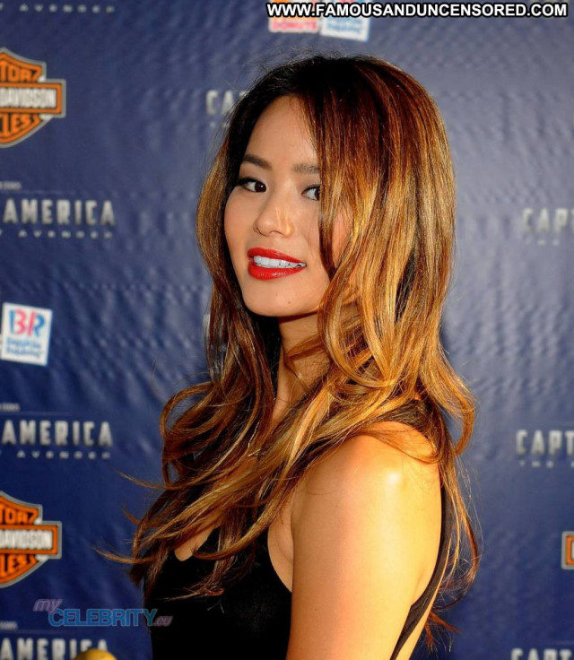 Jamie Chung In America  Celebrity Beautiful Usa Hollywood Babe Posing