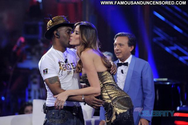 Aida Yespica Tv Show Lingerie Posing Hot Beautiful Tv Show Nice Babe