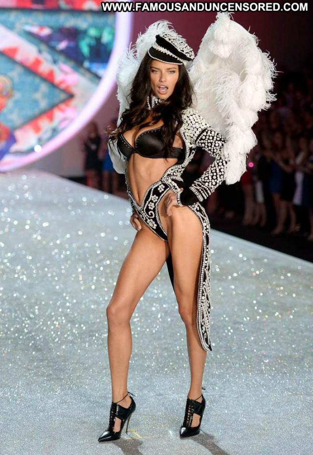 Adriana Lima Victorias Secret New York Celebrity Lingerie Posing Hot