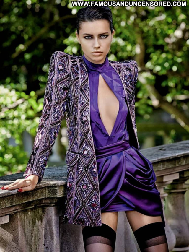 Adriana Lima Vogue Brazil Babe Lingerie Magazine Beautiful Sexy