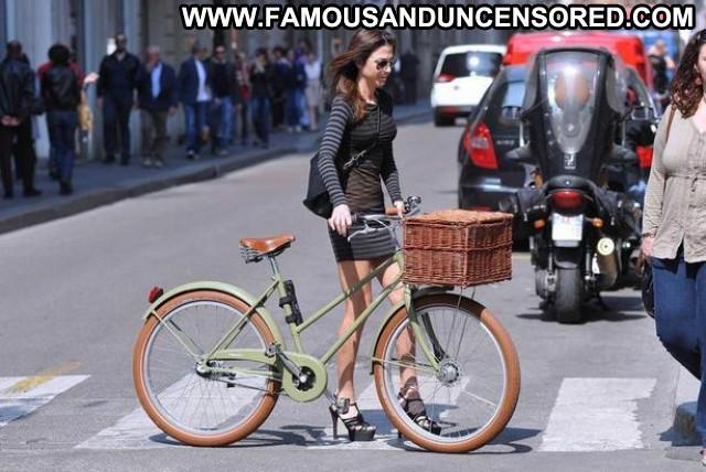 Milan No Source Hot Babe Old Famous Posing Hot Miniskirt Italian