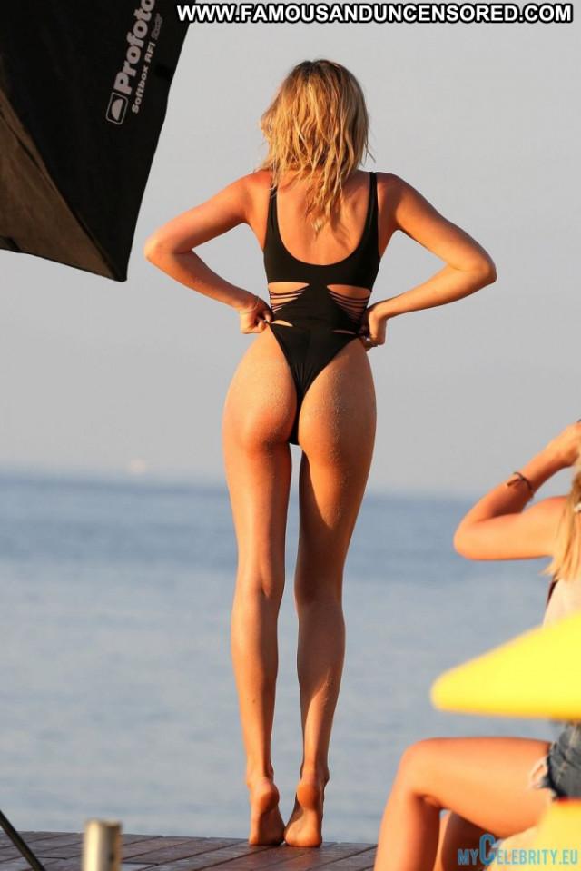Abbey Clancy No Source Swimsuit British Uk Celebrity Lingerie