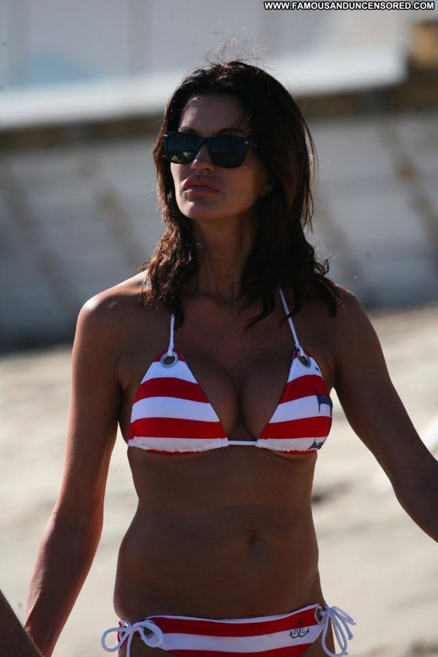 Janice Dickinson Malibu Beach Candids Beach Malibu Babe Posing Hot