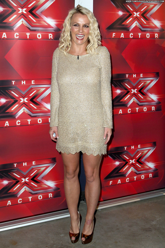 Britney Spears X Factor Beautiful Posing Hot Celebrity Babe Gorgeous