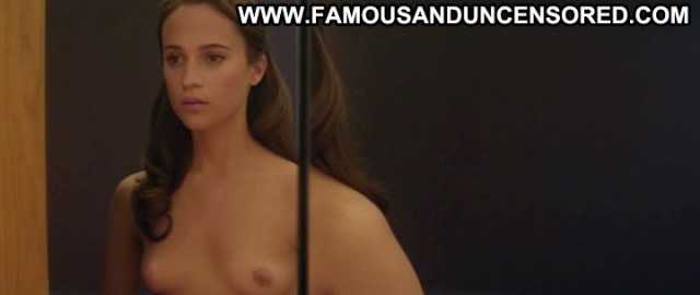 Alicia Vikander Ex Machina Hot Celebrity Movie Nude Posing Hot Female