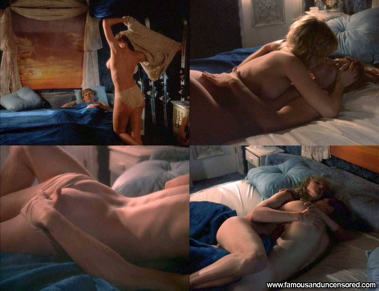 Tracy Smith Nude Sexy Scene in Hot Dog The Movie