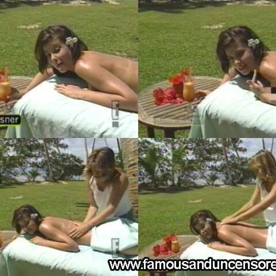 Jules Asner  nackt