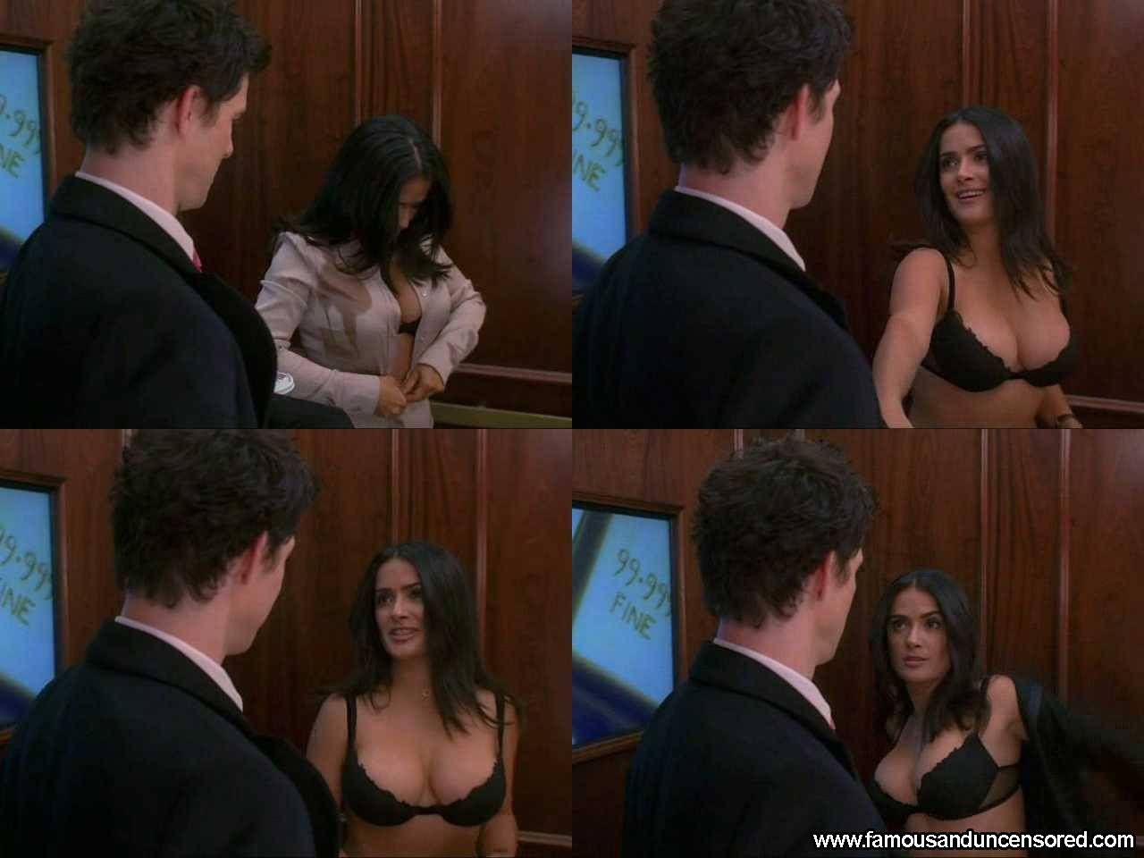 Salma Hayek Nude Sexy Scene in Ugly Betty Celebrity Photos and Videos