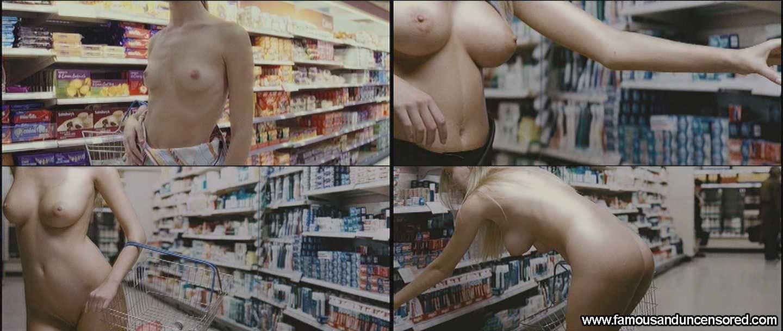 Bare breast girl