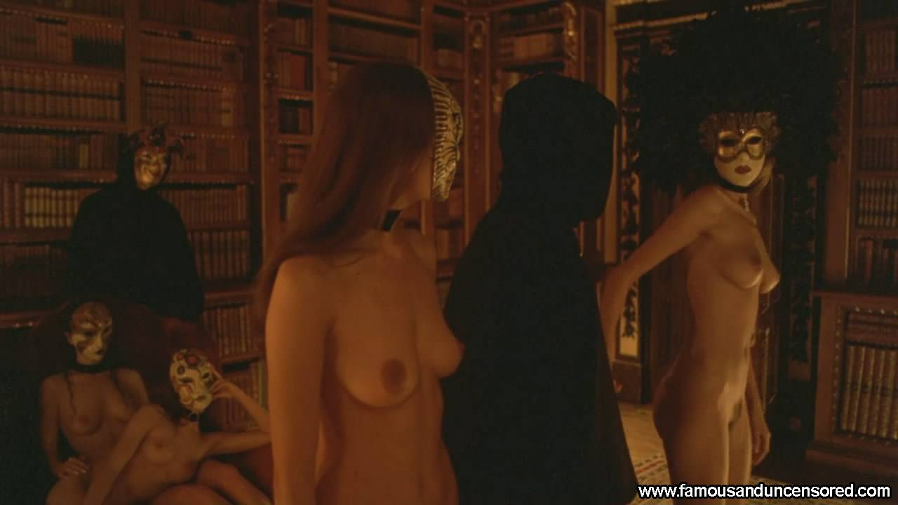 Clip of eyes wide shut orgy scene