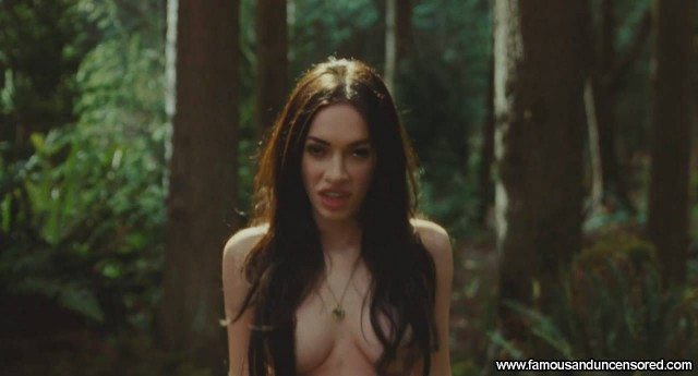 Megan Fox Jennifers Body Sexy Beautiful Nude Scene Celebrity Actress