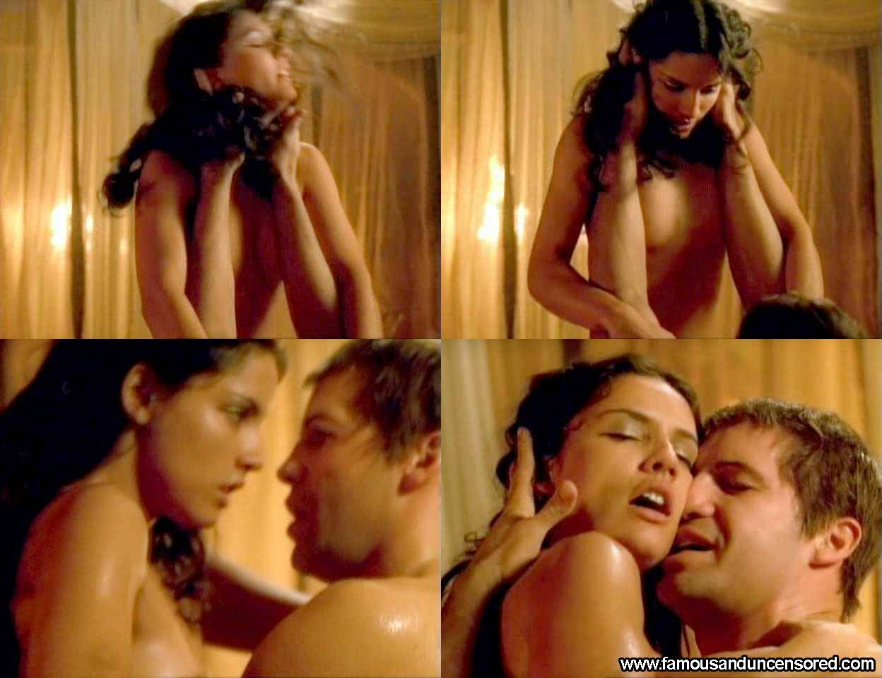 Cleopatra naked in movies