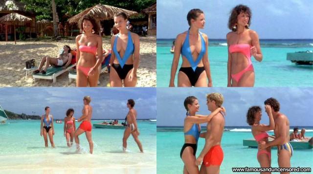 Carey Lowell Club Paradise Celebrity Beautiful Sexy Nude Scene Famous