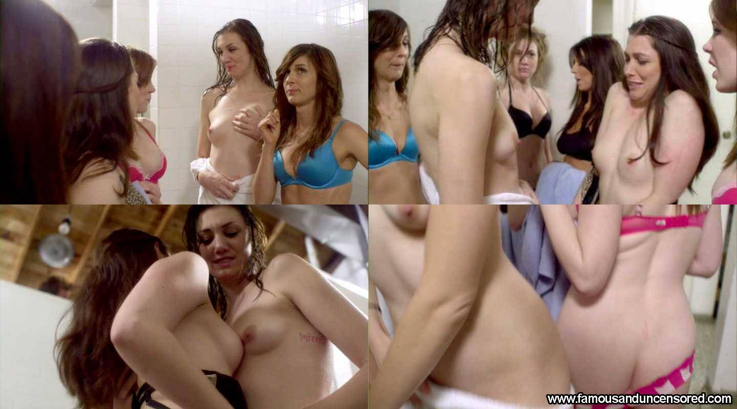 Michaela Myers Nude Sexy Scene in  number 1 Cheerleader Camp