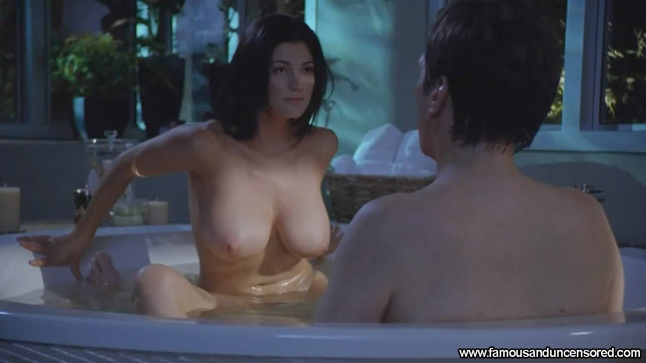 Jessica pare great tits in topless movie scene - 3 9