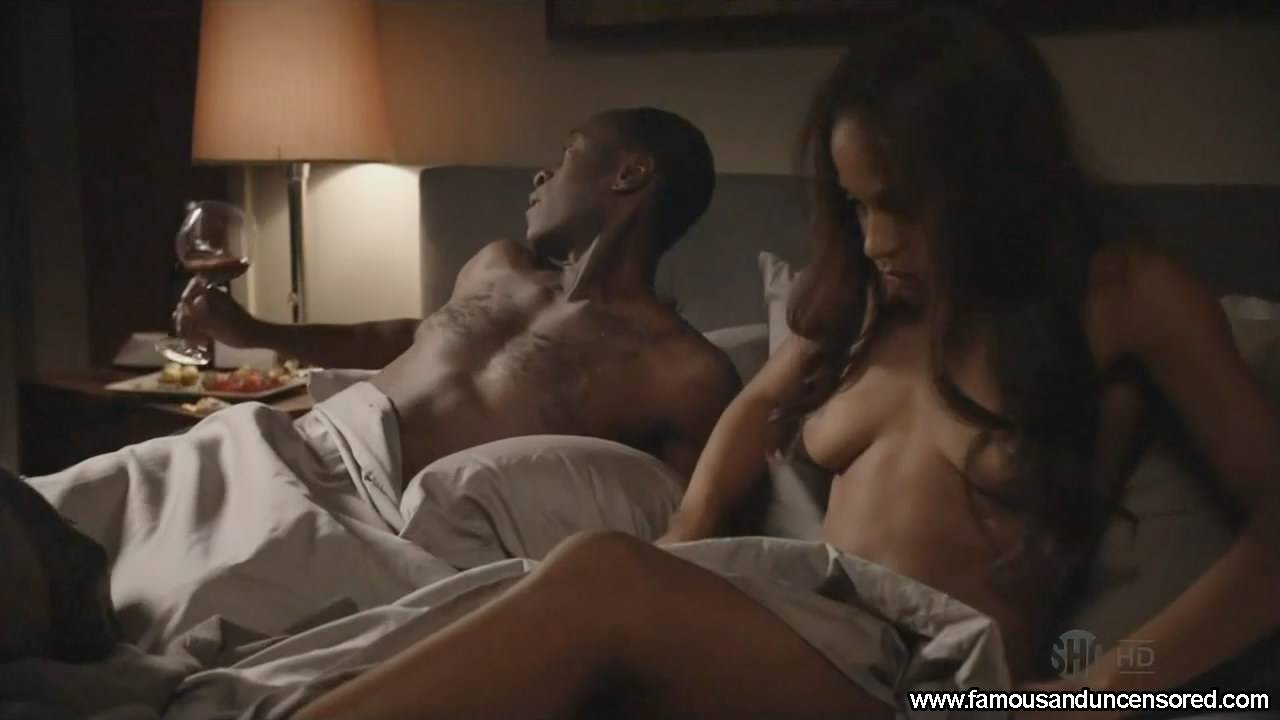 Megalyn Echikunwoke Nude Sey Scene In House Of Lies Celebrity S