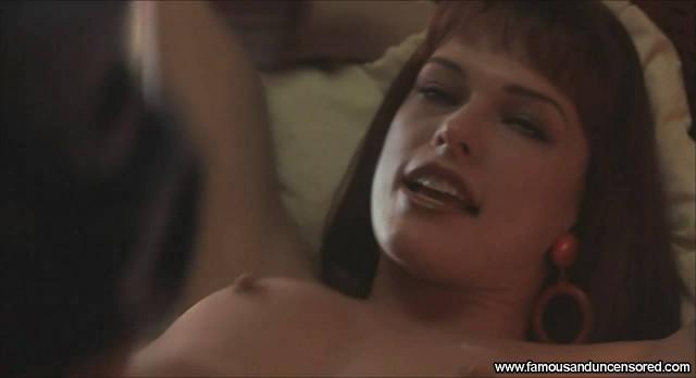 Milla Jovovich He Got Game Nude Scene Beautiful Sexy Celebrity