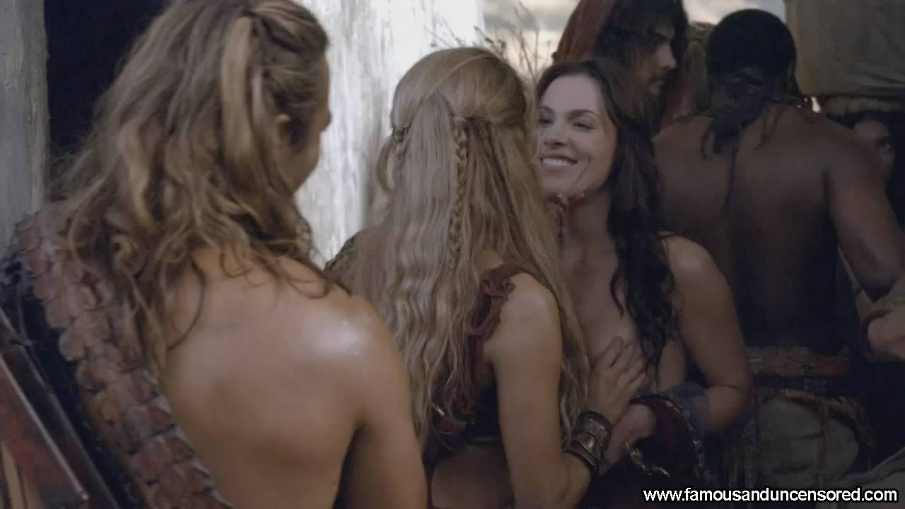 Luna Rioumina Nude Sexy Scene in Spartacus War of the Damned