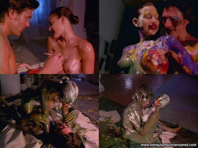 Kari Wuhrer Luscious Nude Scene Celebrity Sexy Beautiful Babe Actress