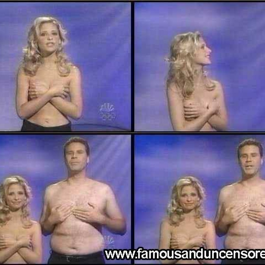 Sarah michelle gellar naked snl