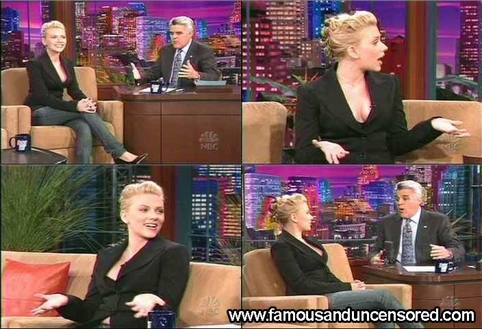 Scarlett Johansson Nude Sexy Scene in The Tonight Show with Jay Leno ...