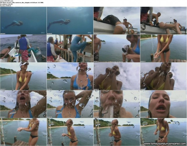 Cameron Diaz Mtv Trippin Beautiful Celebrity Nude Scene Sexy
