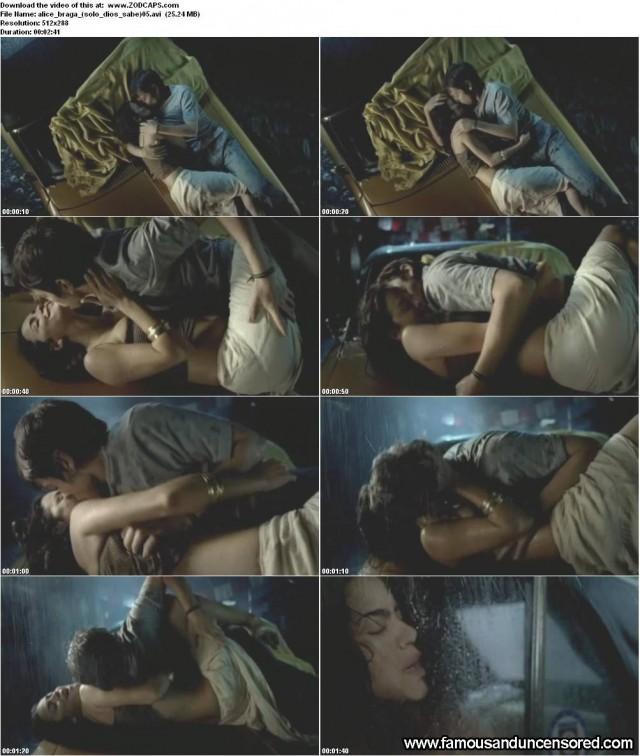 Alice Braga Solo Dios Sabe Celebrity Nude Scene Sexy Beautiful Hot