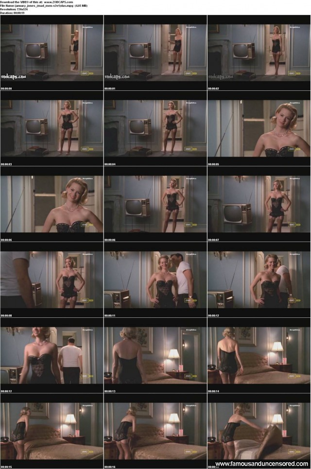 January Jones Mad Men Nude Scene Celebrity Sexy Beautiful Doll Posing