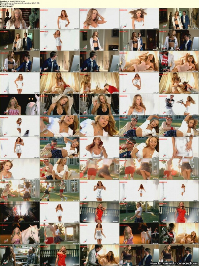 Mariah Carey Video Touch My Body Celebrity Beautiful Sexy Nude Scene