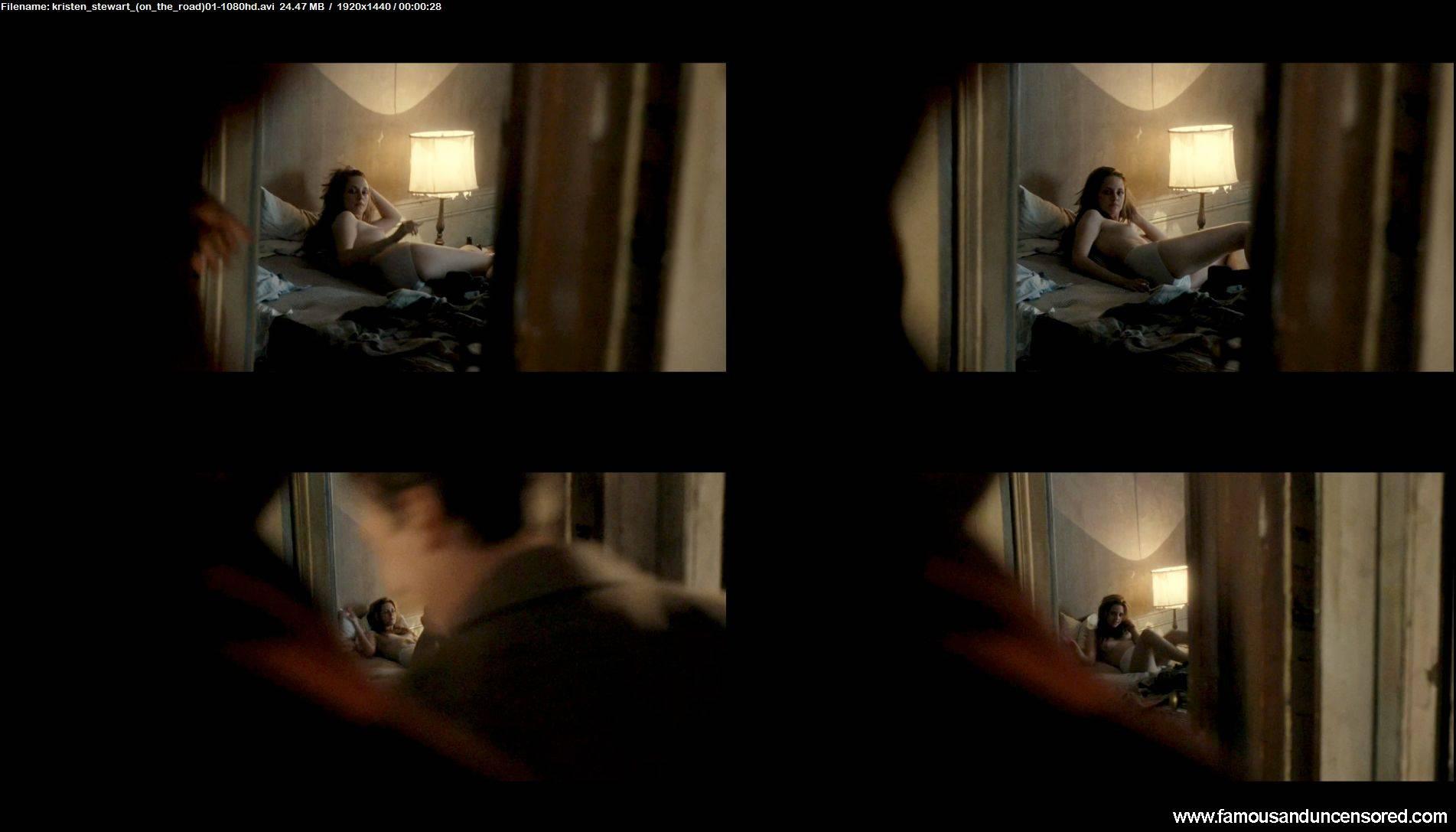Kristen Stewart Nude Sey Scene In On The Road Celebrity S And