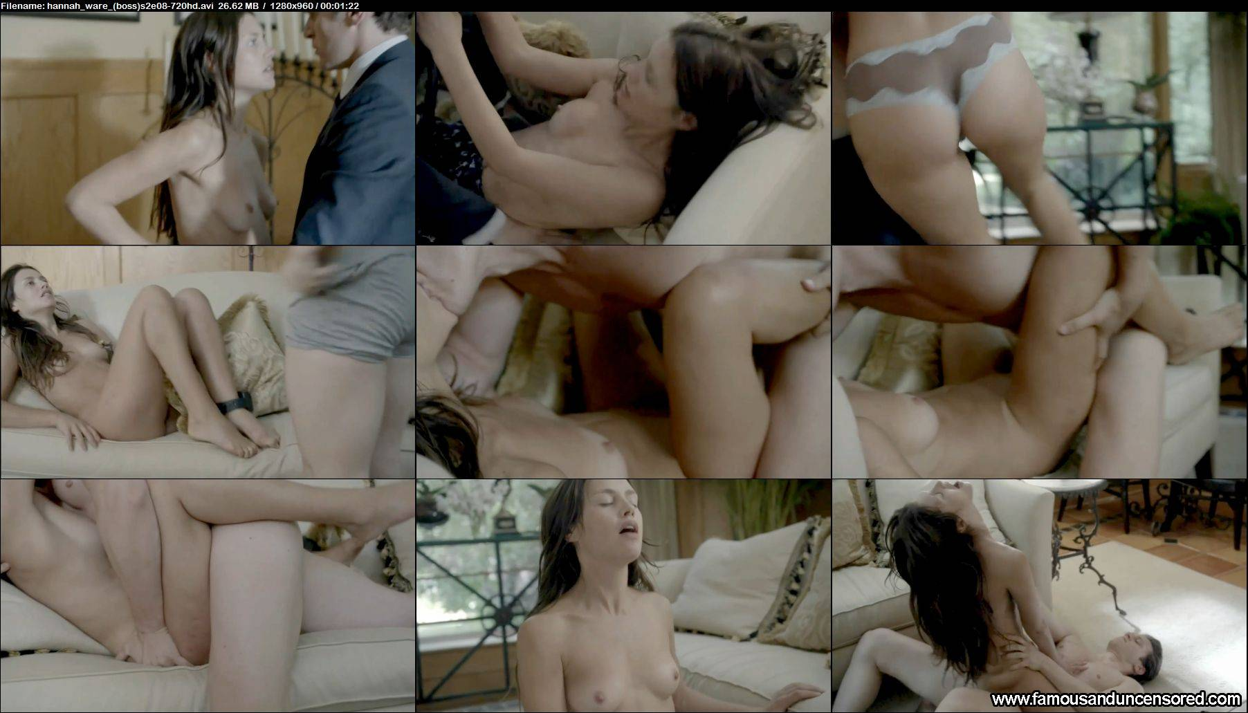 Hannah ware nude boss hd - 2 4