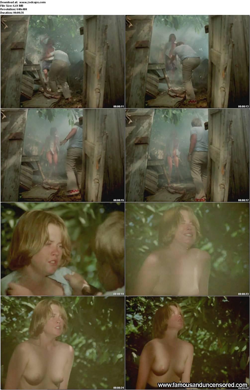 Melanie griffith nude in the garden