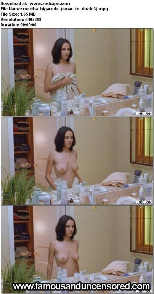 Martha Higareda Amar Te Duele Celebrity Beautiful Sexy Nude Scene