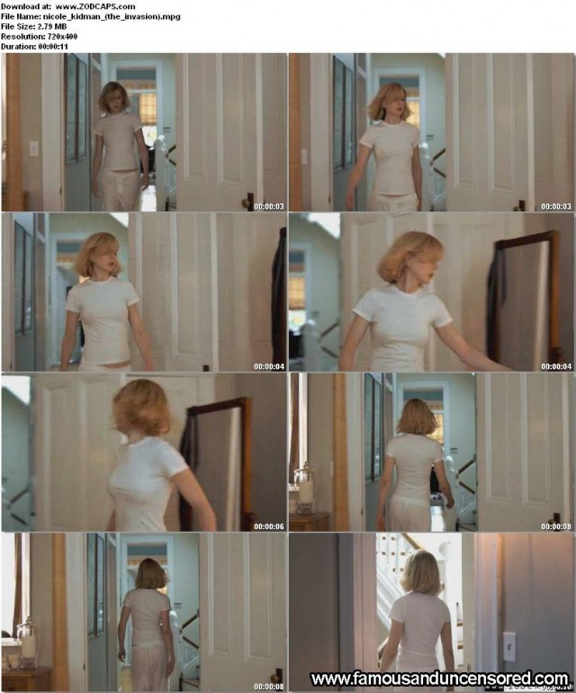Nicole Kidman The Invasion Sexy Beautiful Celebrity Nude Scene