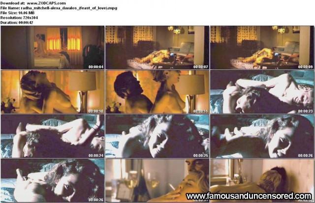 Alexa Davalos Feast Of Love Beautiful Nude Scene Sexy Celebrity Nude