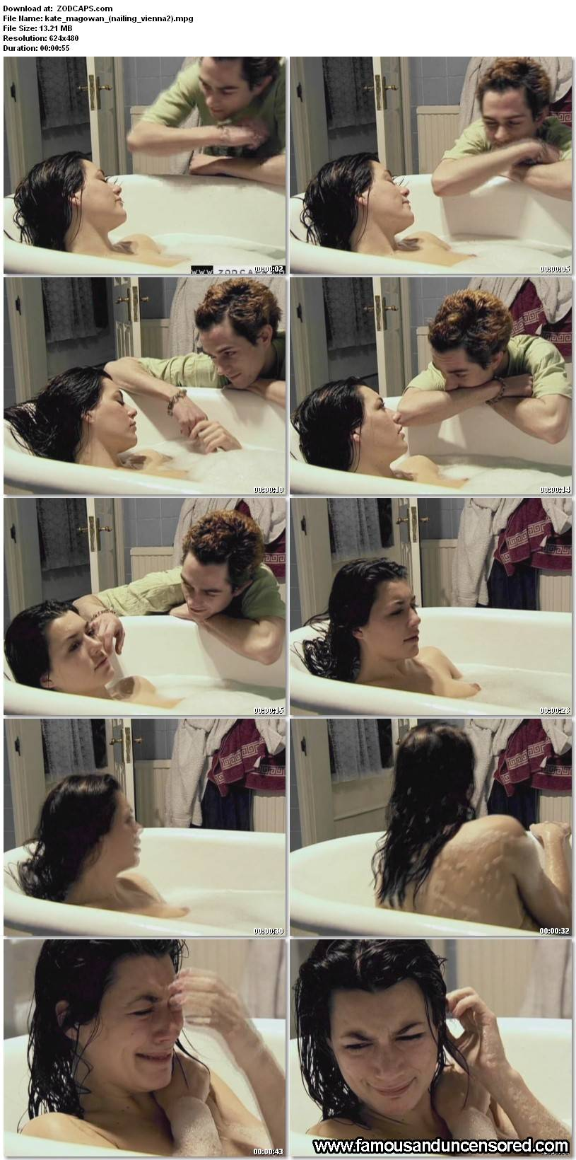 Kate Magowan Nude Sey Scene In Nailing Vienna Celebrity S And