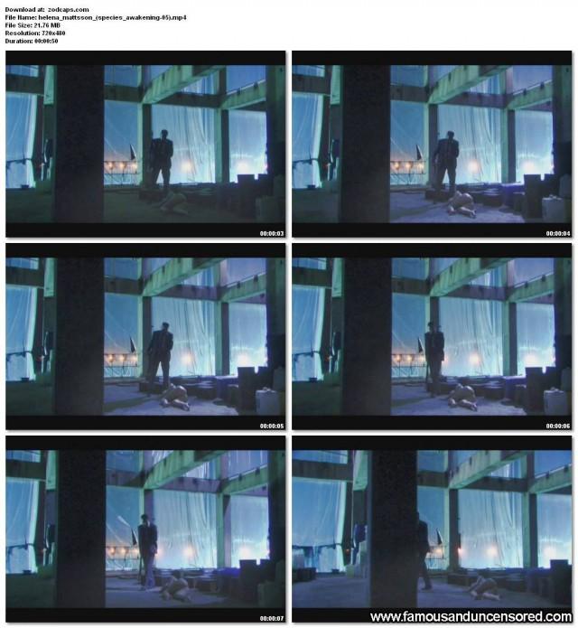 Helena Mattsson Species The Awakening Nude Scene Beautiful