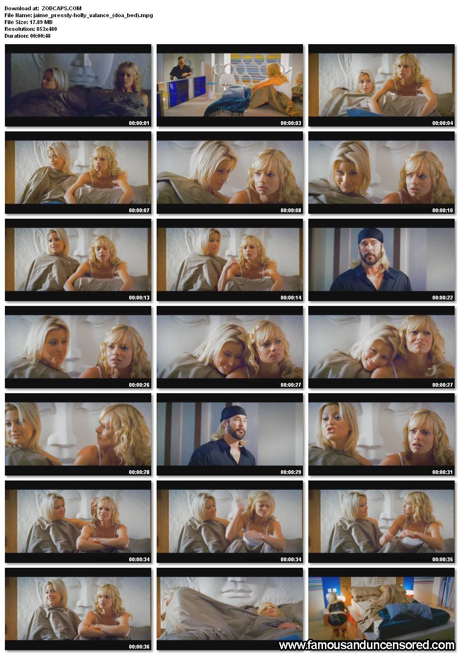 Jaime Pressly Nude Sexy Scene in DOA Celebrity Photos and Videos: www.famousanduncensored.com/nitrovideo.com/galleries2/15184-jaime...