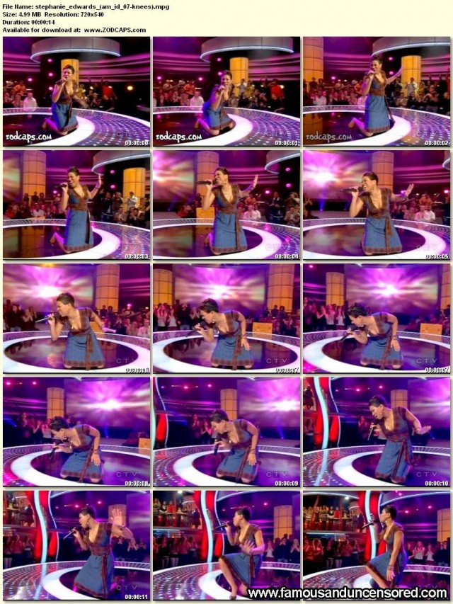 Stephanie Edwards American Idol 2007 Nude Scene Beautiful