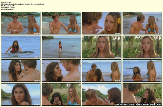Amanda Bynes Love Wrecked Nude Scene Celebrity Beautiful Sexy