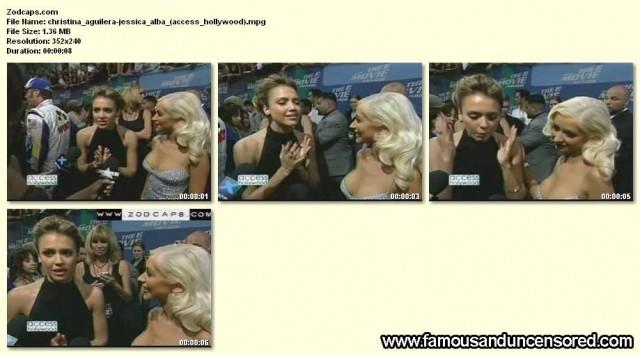 Christina Aguilera Access Hollywood Celebrity Nude Scene Beautiful
