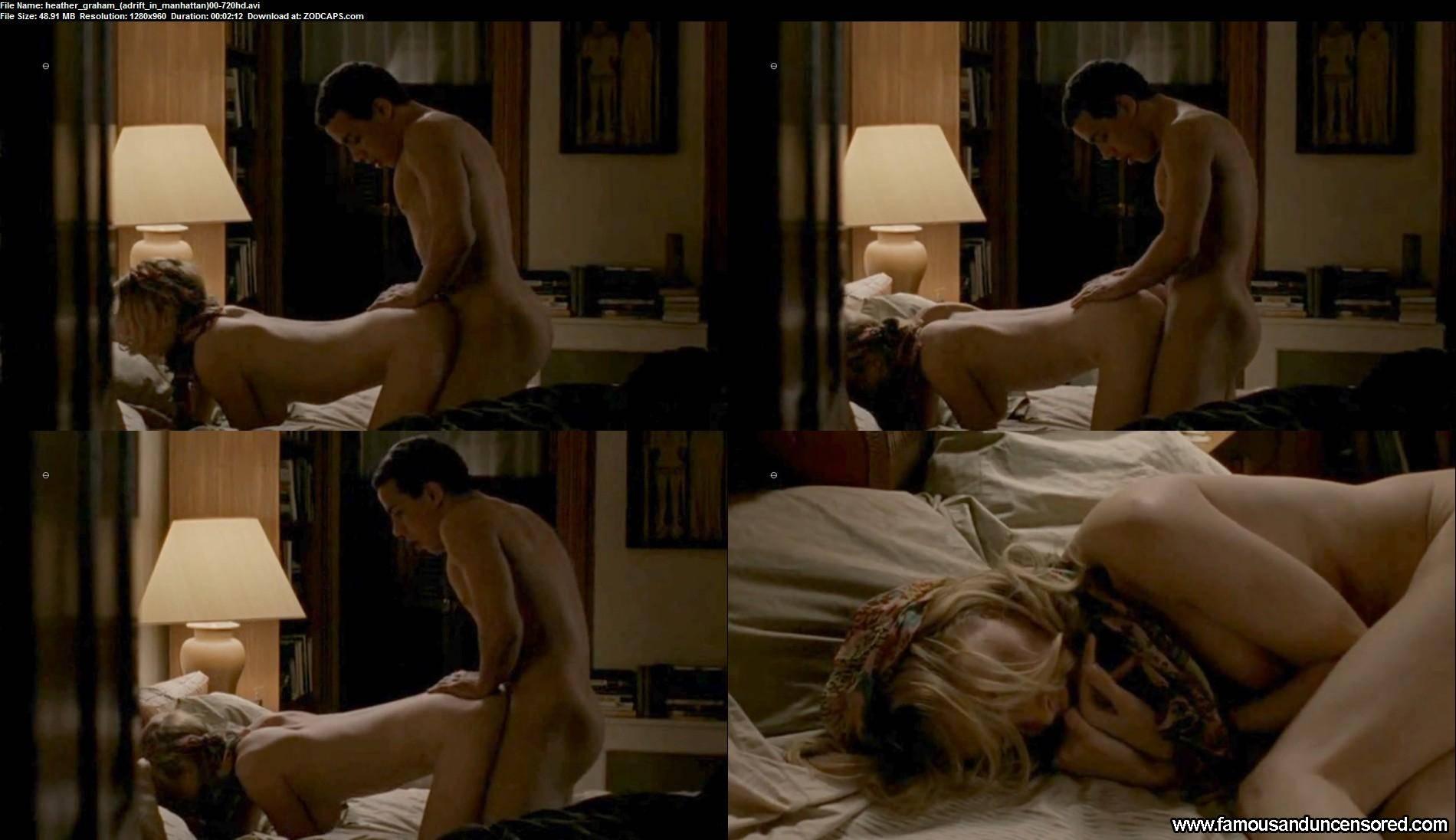 Heather Graham nackt und lesbischen Sex-Szene