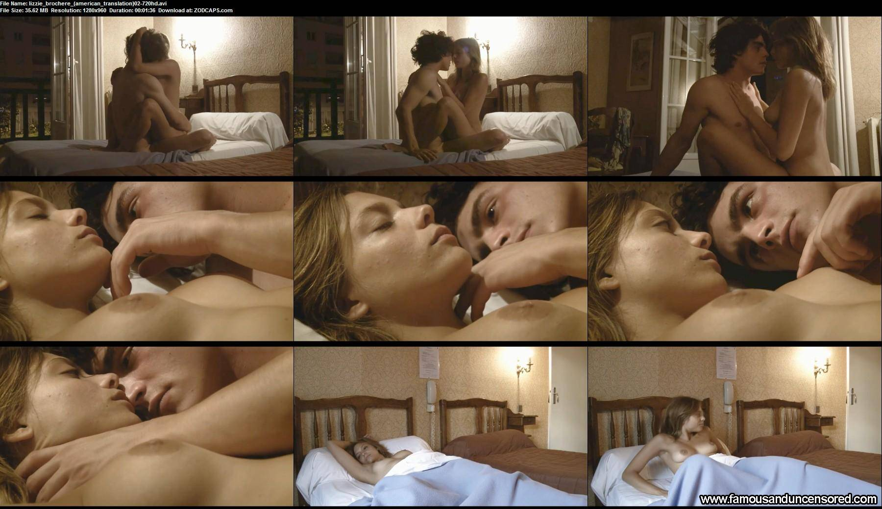 State affairs lizzie brochere american translation in nude