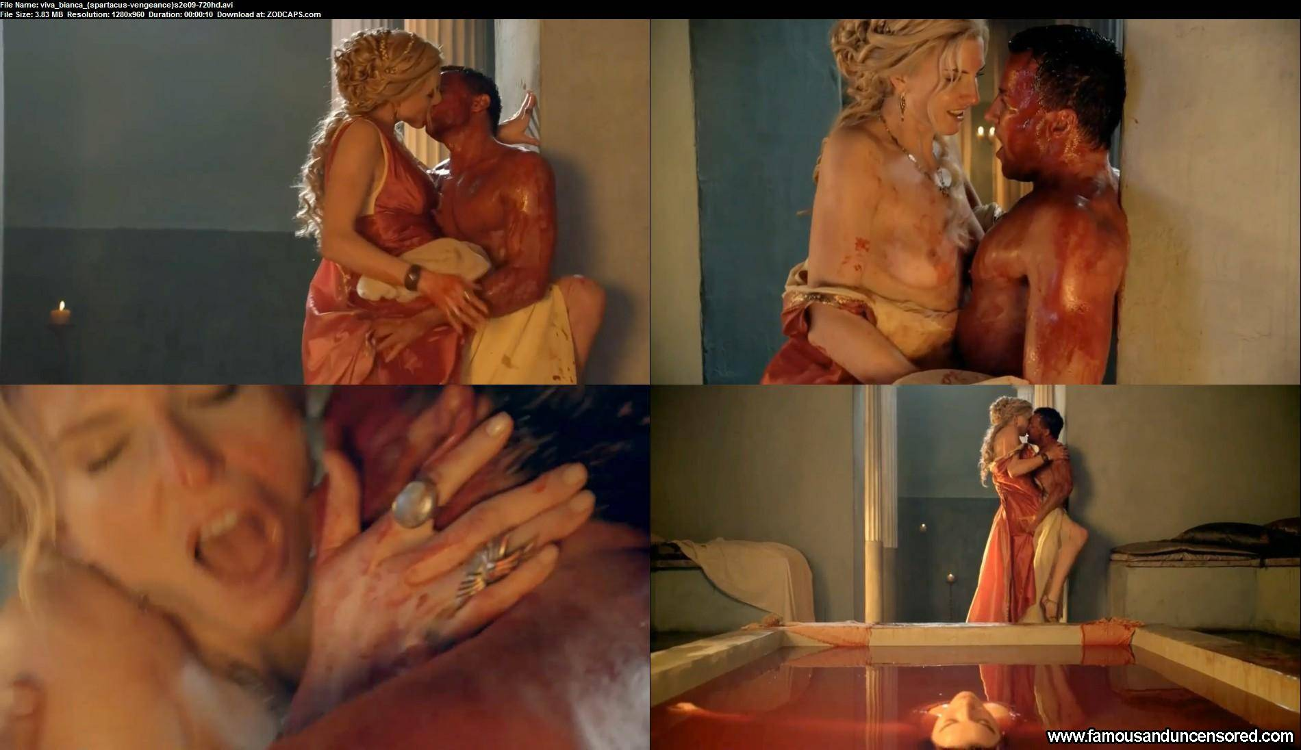 Lucy lawless viva bianca erin cummings nudes from spartacus 5